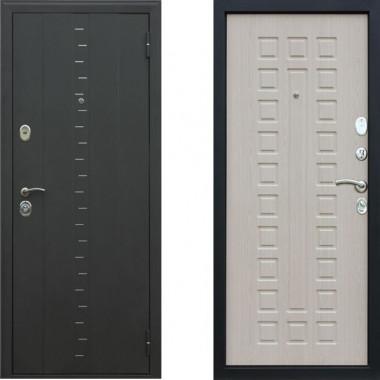 Металлическая дверь АСД Агата 3 Беленый дуб
