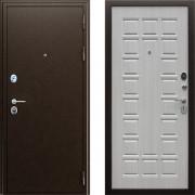 Входная металлическая дверь АСД Спартак Беленый Дуб с шумоизоляцией