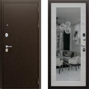 Входная металлическая дверь АСД Спартак с зеркалом