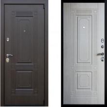 Металлическая дверь Престиж Викинг Беленый Дуб