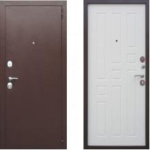 Входная металлическая дверь Атлант Престиж Беленый Дуб