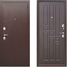 Входная металлическая дверь Атлант Престиж Венге
