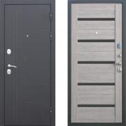 Металлическая дверь Атлант Техно Серый Дуб