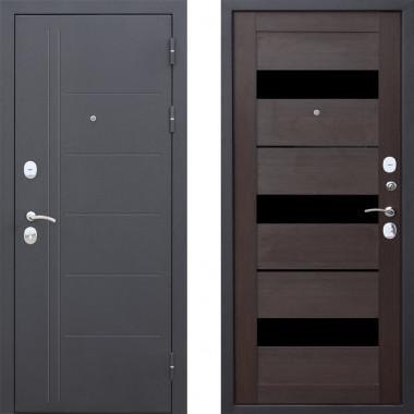 Металлическая дверь Атлант Техно Венге