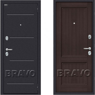 Металлическая дверь Оптим Класс Венге