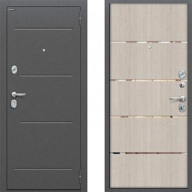 Входная металлическая дверь Оптим Лайн Капучино