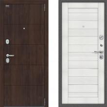 Входная шумоизоляционная дверь Bravo оптим прайм Бьянка Вералинга двери с шумоизоляцией