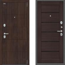 Входная металлическая дверь Bravo оптим прайм Венге двери с шумоизоляцией