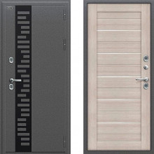 Входная металлическая дверь с терморазрывом Браво Термо 222 Капучино