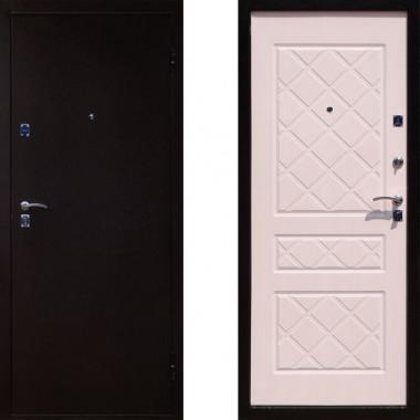 Входная металлическая дверь Йошкар Эко Беленый Дуб