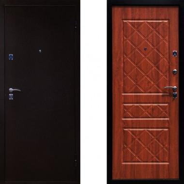 Входная металлическая дверь Йошкар Эко Золотистый Дуб