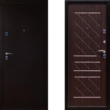 Входная металлическая дверь в квартиру Йошкар Эко Венге