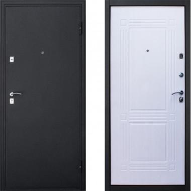 Входная металлическая дверь Йошкар Бастион Беленый Дуб