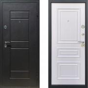 Входная дверь Атлант Неаполь Белый Ясень