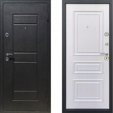 Входная металлическая дверь Атлант Неаполь Белый Ясен