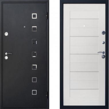Входная металлическая дверь Атлант ЭКО 7х Беленый Дуб