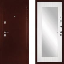 Входная металлическая дверь с зеркалом Дива С-503
