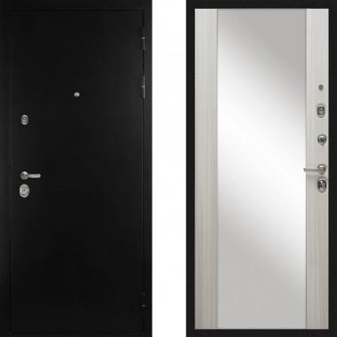 Входная металлическая дверь с зеркалом Дива С-506