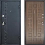 Входная металлическая дверь Дверной Континент Сити Венге