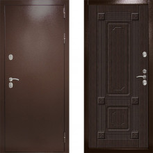 Входная дверь с терморазрывом Дверной Континент Термаль Ультра Венге