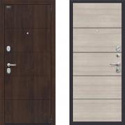 Входная металлическая дверь Porta s4 п50 Cappuccino Veralinga