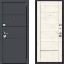 Входная металлическая дверь Porta s4 л22 Nordik Oak в квартиру с шумоизоляцией
