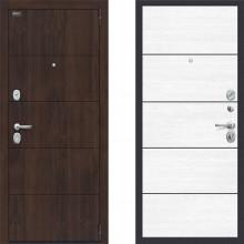 Входная металлическая дверь Porta s4 п50 Snow Veralinga двери с шумоизоляцией