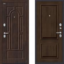 Входная дверь с шумоизоляцией Porta s55 k12 Dark oak в квартиру с шумоизоляцией