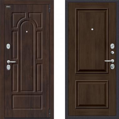 Входная металлическая дверь Porta s55 k12 Dark oak