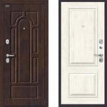 Входная металлическая дверь Porta s55 k12 Nordic oak в квартиру с шумоизоляцией