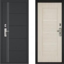 Входная металлическая дверь Форпост 128 Беленый дуб