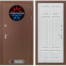 Уличная входная дверь Лабиринт Термо Магнит 8 Кристалл вуд