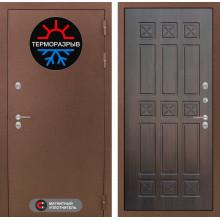 Входная металлическая дверь с терморазрывом Лабиринт Термо Магнит 16 Алмон 28