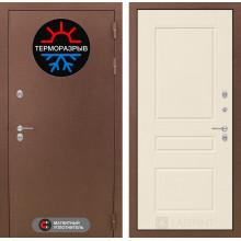 Уличная дверь Лабиринт Термо Магнит 3 Крем софт
