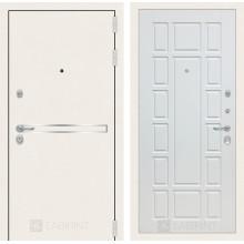 Входная металлическая дверь Лабиринт Лайн WHITE 12 Белое дерево