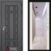 Металлическая дверь Лабиринт Нью Йорк сандал белый с зеркалом Макси