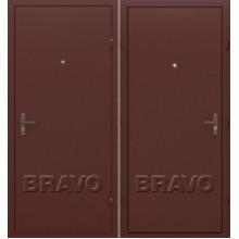 Металлическая дверь Bravo Оптим Лайт Антик Медь