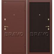 Металлическая дверь Bravo Стандарт (50 мм) Венге