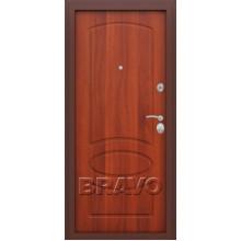 Металлическая дверь Bravo Оптим Нео Итальянский орех
