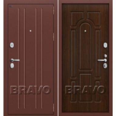 Металлическая дверь GROFF P2-203 П-3 Тиковое Дерево