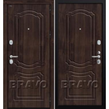 Металлическая дверь GROFF P3-301 П-28 Темная Вишня