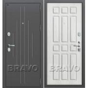 Металлическая дверь GROFF P2-205 П-25 Беленый Дуб