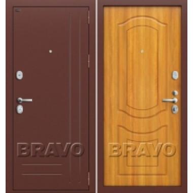 Металлическая дверь GROFF P2-200 П-2 Светлый Орех