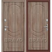 Металлическая дверь GROFF P3-300 П-1 Темный Орех