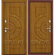 Металлическая дверь GROFF P3-302 П-4 Золотой Дуб