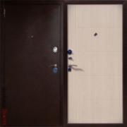 Металлическая дверь Юг-5 Белёный Дуб