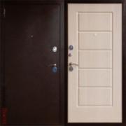 Металлическая дверь Юг-3 Белёный Дуб