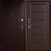 Металлическая дверь Юг-3 Венге