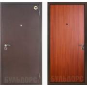 Металлическая дверь БУЛЬДОРС-11 Лесной орех
