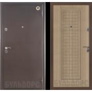 Металлическая дверь БУЛЬДОРС-12С Светлый венге